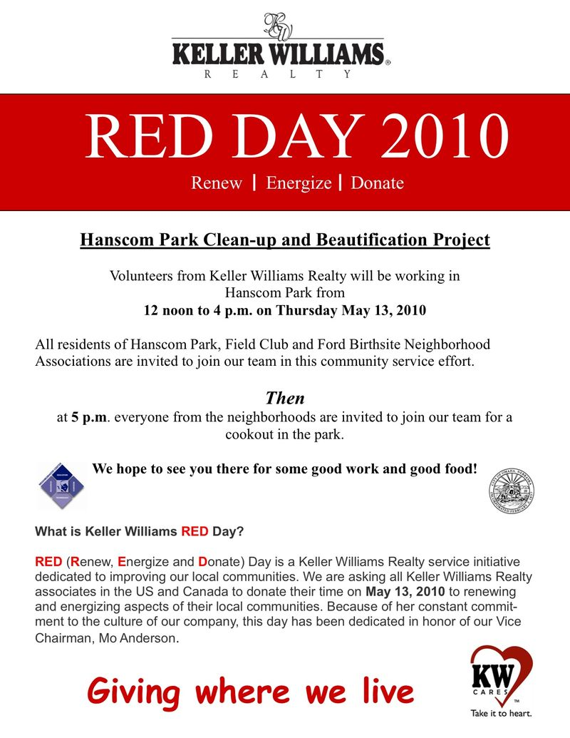 Ron's red day